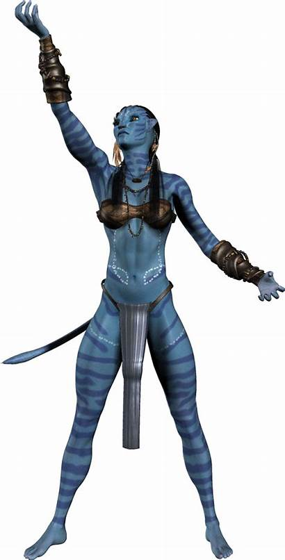 Avatar Film Neytiri Komputer Grafis Gambar Makeup