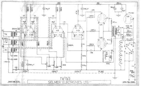 15 Schematic Wiring by Selmer Tv15 Schematic