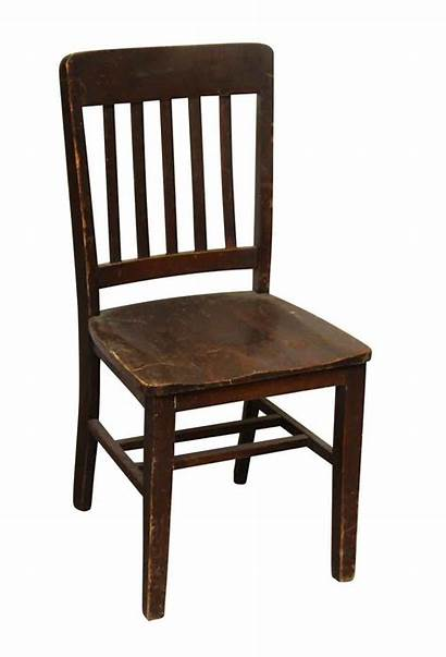 Chair Wooden Simple Seating Antique Furniture Things