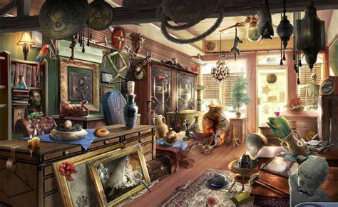 the bureau gameplay image 5 galloway 39 s antique shop png criminal