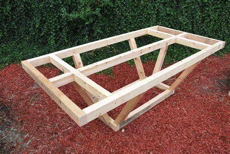 emejing fabriquer une table de stunning comment fabriquer une table de jardin en bois