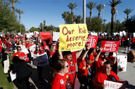 Arizona Teachers To Strike After Rejecting Pay Raise Plan