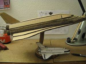 Homemade Space Shuttle Model - Pics about space