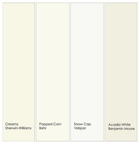 behr paint colors popped corn warm white trim paint from left to right 1 creamy