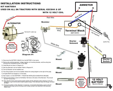 new 8n ford alternator fits generator conversion kit side mount sn 263844 up ebay