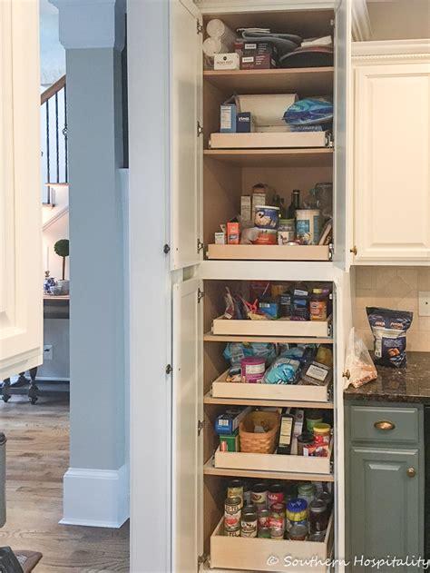 kitchen cabinet sliding shelves installing sliding shelves in a pantry southern hospitality 5782