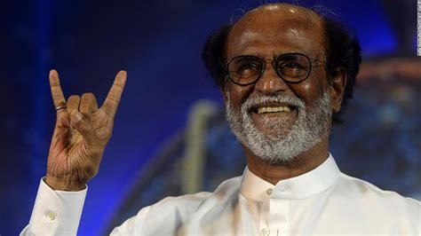 indian  superstar rajinikanth declares intention