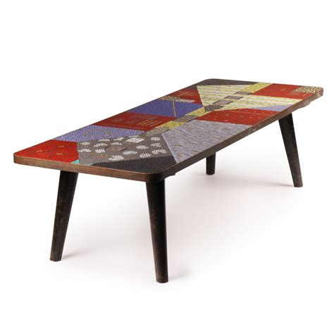 Mosaic Coffee Table (1960s)  20thcdesignm. Table Top Covers. Sliding Drawers For Closets. Gold Runners For Tables. Desk Storage Cabinet. Dining Table With 6 Chairs. Cool Desk Chairs For Girls. Expedit Ikea Desk. Home Office U Shaped Desk