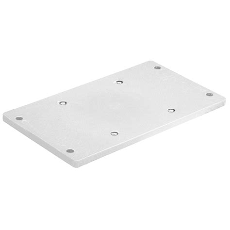 Wise Boat Seat Hardware by Wise Marine Seating Seat Mounting Plate White