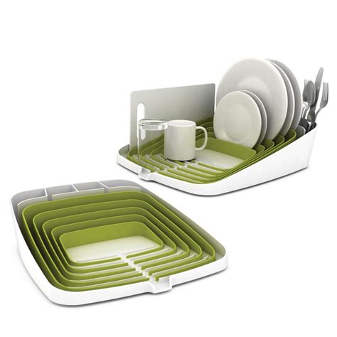 dish drainer small stylish and compact dish rack for the home pinterest
