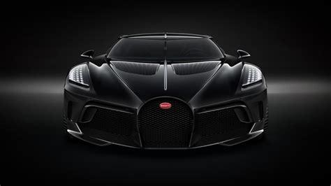 bugatti voiture noire  hyper coupe  worlds