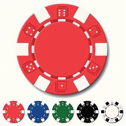 Chips Casino Vector Poker Chip Clip Gambling