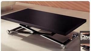 Table De Salon Transformable : table basse transformable ~ Teatrodelosmanantiales.com Idées de Décoration