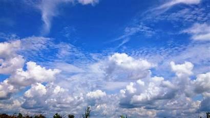 Langit Biru Gambar Berwarna Cerah Buku Kertas