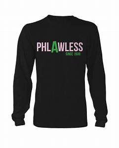 alpha kappa alpha phlawless long sleeve letters greek With cheap greek letter apparel