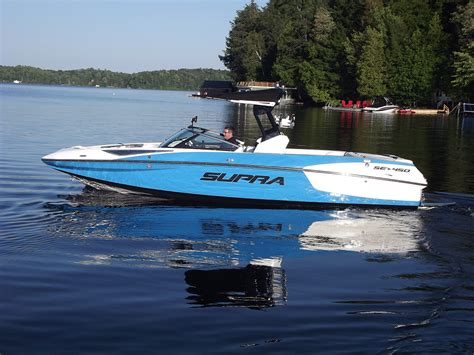 Supra Se Boat by Power Profile Supra Se 450 Boats And Places Magazine