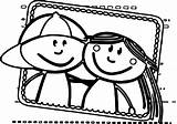 Coloring Friend Printable sketch template