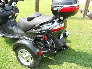 2007 Suzuki Burgman 650 Scooter With Tow Pac Trike Kit