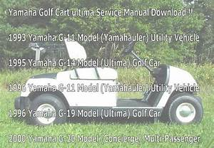 Yamaha G11 To G20 Ultima Service Manual Downloa