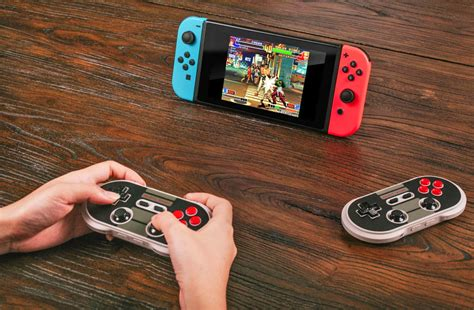 switch nintendo 8bitdo gamepad retro controller option thanks credit engadget play fix two classic iphone together