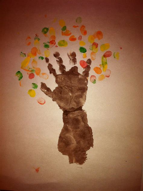 one year craft ideas birthday crafts for one year olds autumn tree the 6984