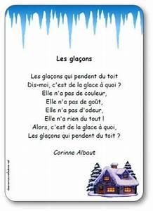 Poésie Les glaçons de Corinne Albaut Poésie illustrée à