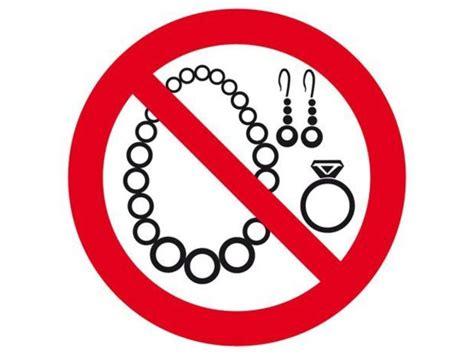 chimie et cuisine panneau bijoux interdits pan19 contact outillage btp com