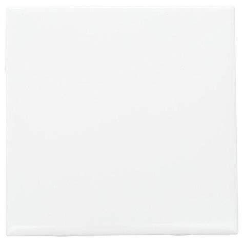 White Ceramic Tile by Daltile Semi Gloss White 6 In X 6 In Ceramic Wall Tile
