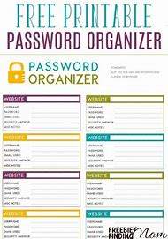 Best 25+ ideas about Free Printable Password Organizer Sheets | Find ...