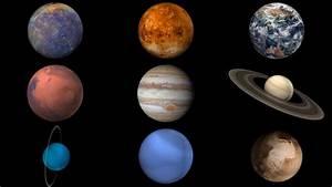 Hyperwall  Our Solar System