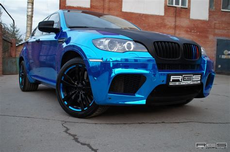 bmw    blue chrome autoevolution