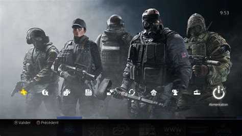 Rainbow Six Siege S Theme Tom Clancy 39 S Rainbow Six Siege Télécharger Un Thème Ps4