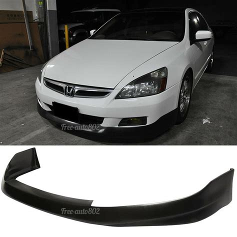 fit    honda accord coupe hfp style pu front bumper