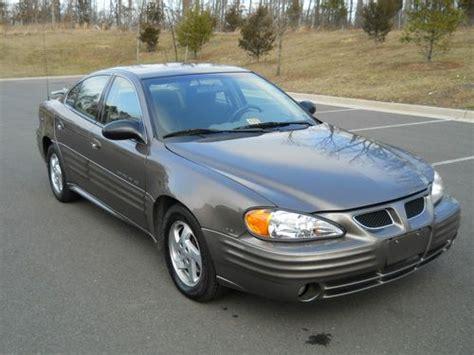Sell Used 2002 Pontiac Grand Am Se Sedan 4door 34l