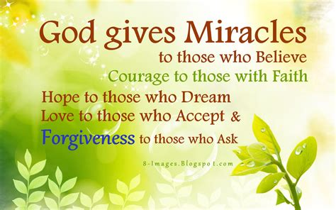 For god so loved the world that he gave his only son that whoever believes in him should not perish but have eternal life. God gives Miracles to those who Believe, Courage to those with Faith, Hope to those who Dream ...