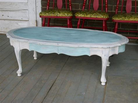 shabby chic white coffee table topic related to img
