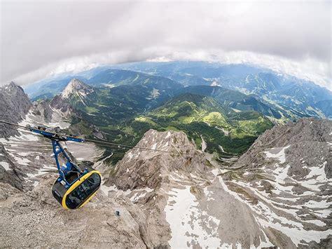 Vagoniņš, kalni, kalnu, gondola, kalnu ainava, ledājs ...