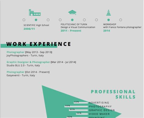 Artistic Resume Templates by 30 Best Free Illustrator Resume Templates In 2019