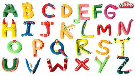playdoh alien abc abc song playdoh learn alphabets