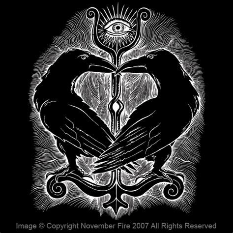 huginn and muninn norse mythology god odin raven midgard