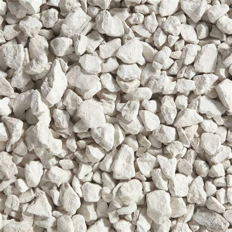 graviers naturelle blanc calcaire 6 16mm 25 kg leroy merlin