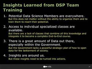 Summary of Insights Learned from the Data Science Program ...