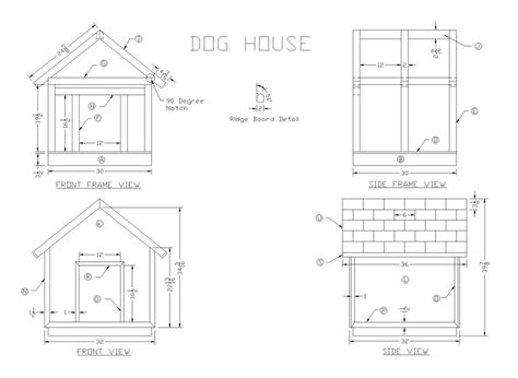 build  wooden dog house woodworking plans  lee