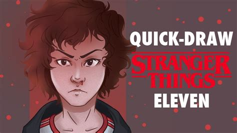 Stranger Things Quick-Draw - Eleven - YouTube