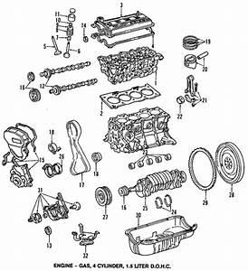 Genuine Oem Engine Parts For 1997 Toyota Tercel Ce