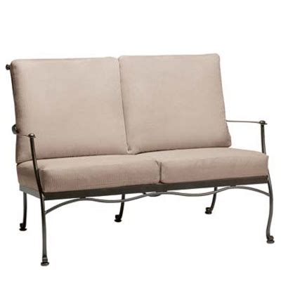 benches for bedroom woodard 7f0019 maddox loveseat with cushions 10816