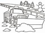 Coloring Snowplow Pierce Plow Wa County Piercecountywa Official sketch template
