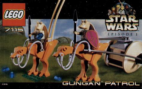 lego gungan patrol instructions  star wars episode