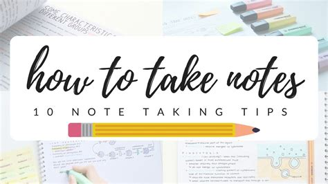 efficient  neat notes  note  tips