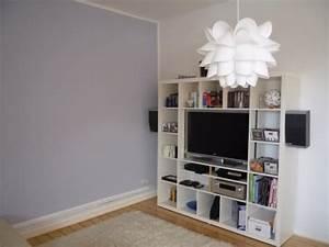 Wohnzimmer Wandfarbe Grau : wohnzimmer wandfarbe inspirationen und tipps ~ Orissabook.com Haus und Dekorationen